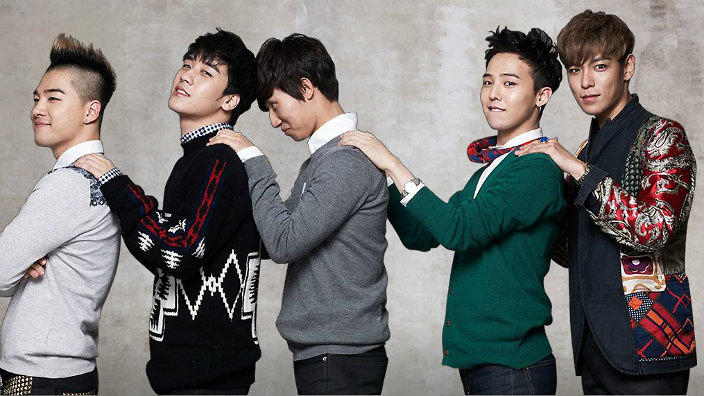 Bigbang 2018 members k-pop